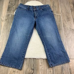 Chico's Denim cropped jeans size 2.5